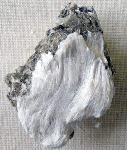 Asbestos (photograph courtesy of Wikipedia)