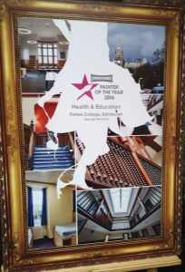 Johnstone's Paints Painter Of The Year 2016 Health & Education