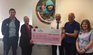 Cheque presentation after GN Memorial Golf Day3